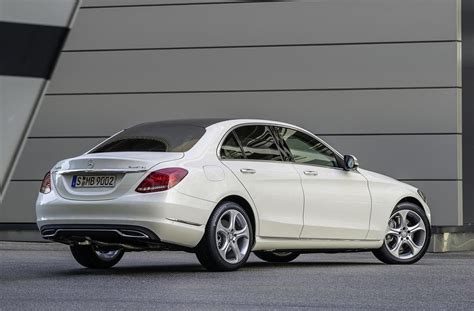 mercedes white 2014 mercedes benz c class revealed official