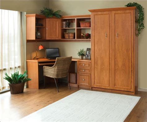 murphy bed office living larger in less space using products from the early