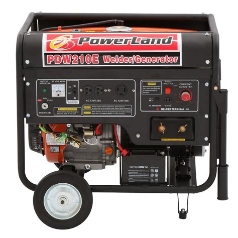 powerland 210 welder and 4 000 watt gasoline powered