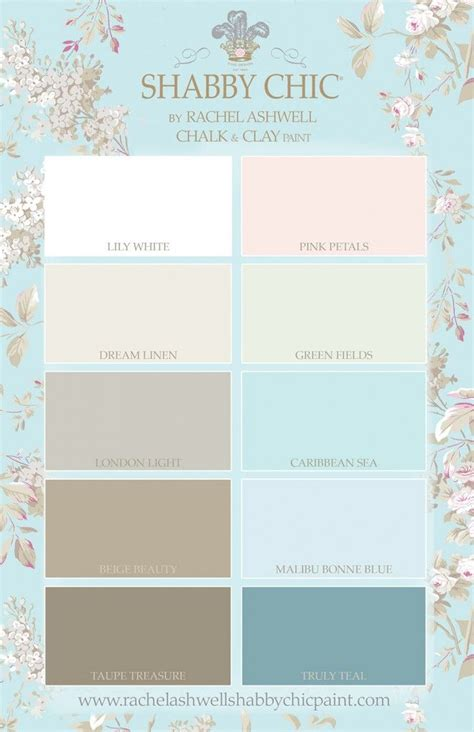 shabby chic by ashwell chalk clay paint palette rally like truly teal white