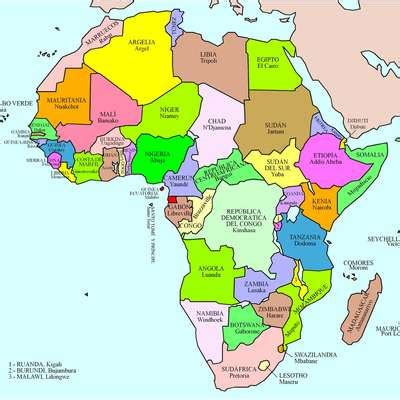 map of africa with countries labeled r 243 żne countries that could fit inside africa 550x614 mapporn