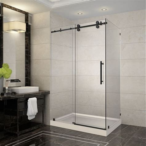 5 Foot Shower Door 18 Best New 2016 Rubbed Bronze Frameless Shower Doors Enclosures Images On