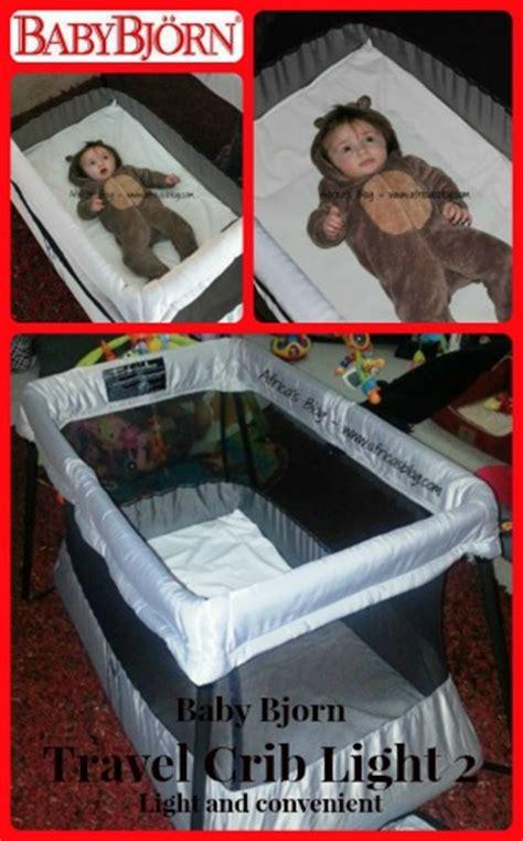 Baby Bjorn Travel Crib Light Vs Light 2 Babybjorn Travel Crib Light 2 Review Giveaway 300 Value