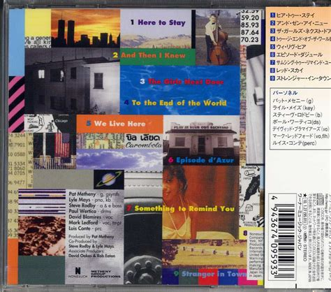 Cd Import Pat Metheny We Live Here we live here by pat metheny cd with jazzybird ref 114220553