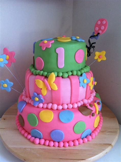 1st Birthday Cake by Sweetness By D 1st Birthday Cakes For