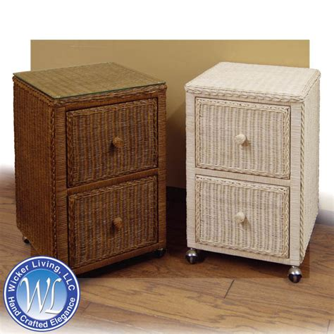 Wicker Cabinet by Wicker File Cabinet Multi Purpose Wicker Furniture