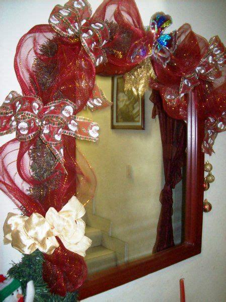decorar espejos para navidad espejos decorados para navidad buscar con google