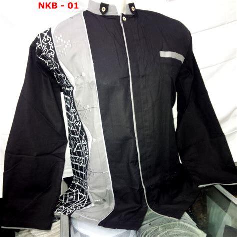 Koko Modern 104 baju muslim pria warna hitam panjang busanamuslimpria
