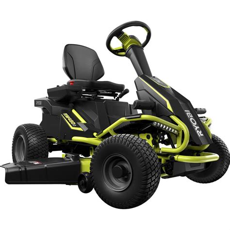 ryobi 38 in battery electric lawn mower ry48110