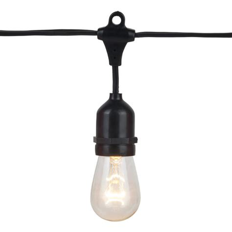 patio lighting strings commercial patio light string suspended e26 medium