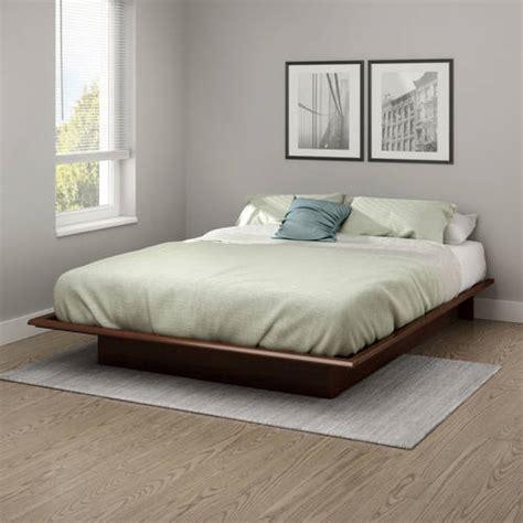 south shore basics platform bed with molding south shore basics platform bed with molding 60