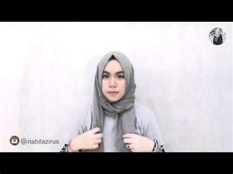 tutorial hijab nabila zirus tutorial simple hijab by nabilazirus youtube