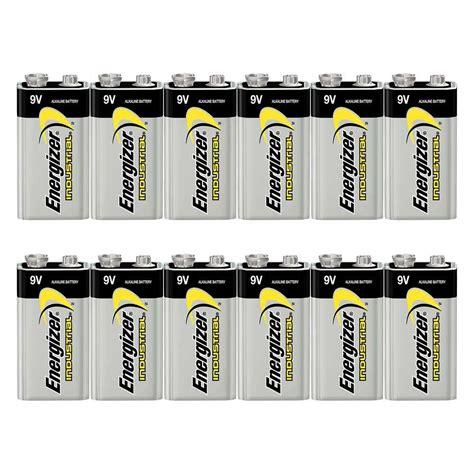 Energizer Alkaline Size 9v 6lr61 Eng 9v6lr61 energizer industrial 9v batteries boxes of 12 cells 7dayshop