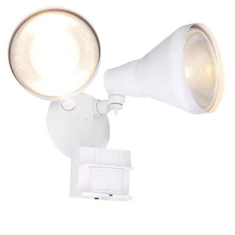 defiant 180 motion security light defiant 180 degree outdoor white motion sensing security
