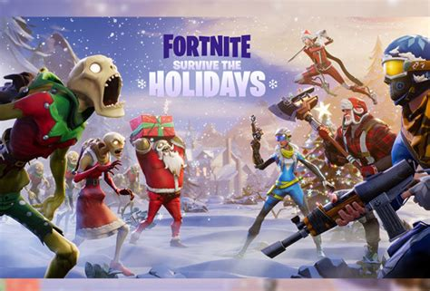 fortnite battle royale nuova patch fornite battle royale nuovo evento di natale
