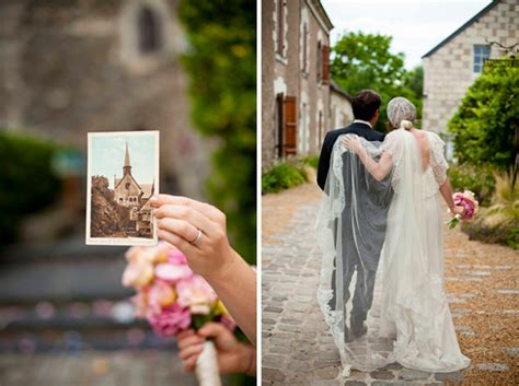 Whimsical French Wedding   Once Wed