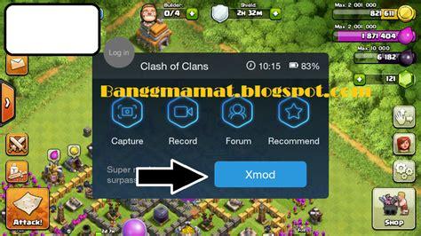 x mod game untuk coc cara menggunakan cheat game coc menggunakan x mod games