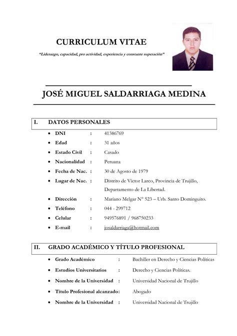 Modelo De Curriculum Vitae Simple Para Trabajo Peru 10 Best Images Of Modernos Modelos De Curriculum Vitae Curriculumvitae Modelo De Curriculum