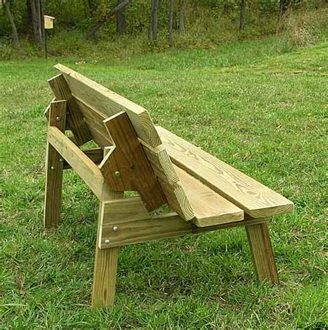 convertible bench table plans flip top bench table plans are you choosing between a picnic table and bench for your