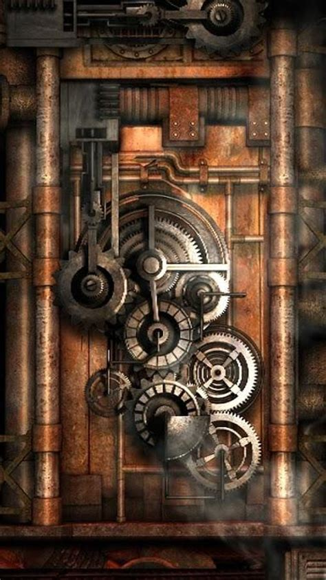 steampunk iphone wallpaper  wallpapersafari