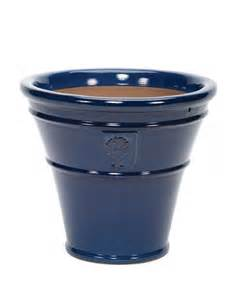 apta blue pot glazed royal horticultural society