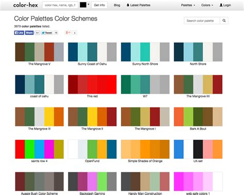 100 web page color schemes sketchbooks creative