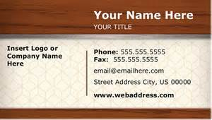 Microsoft Office Word Business Card Template Free Business Card Templates For Microsoft Word