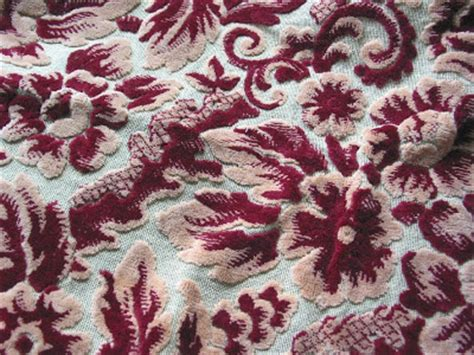 jacquard design meaning niesz vintage home and fabric vintage cut velvet