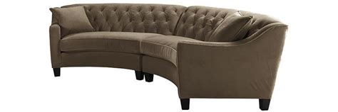 riemann tufted sectional riemann curved tufted sectional sofas and loveseats