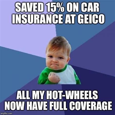 Car Insurance Meme - success kid meme imgflip