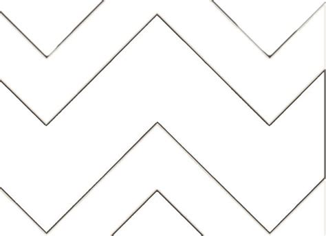 how to make a chevron template chevron pattern diy