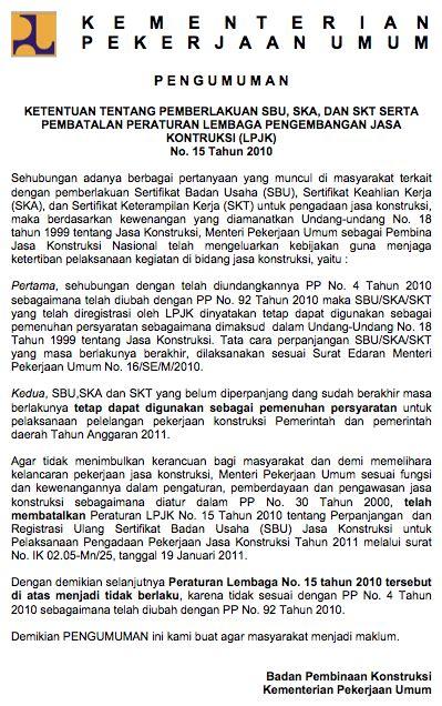Buku Administrasi Publik Pu pembatalan peraturan lpjk no 15 tahun 2010 khalid mustafa s weblog