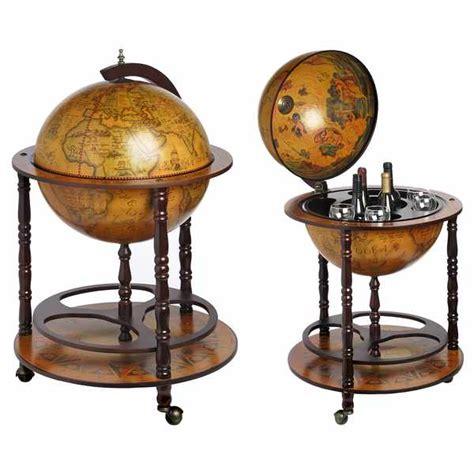 bar globe drinks cabinet antique vintage nautical style globe bar drinks cabinet