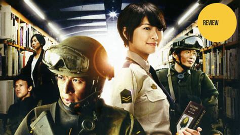 anime live action movies the library wars live action movie is both action filled