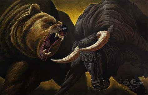 the complete bull vs bear roundup from the past week latest bull fighting bear vs bull fight