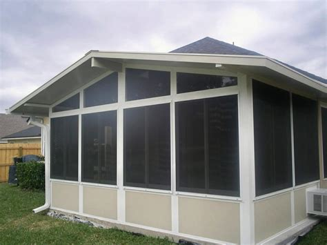 Windows For Screen Room by Gabled Screen Room W Vinyl Windows By Utmost Services