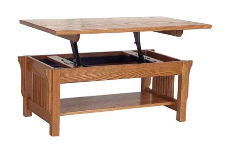 Amish Lancaster Mission Lift Top Coffee Table