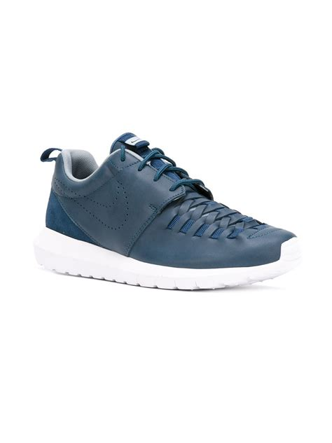 roshe shoes for nike roshe one nm sneakers in blue for lyst