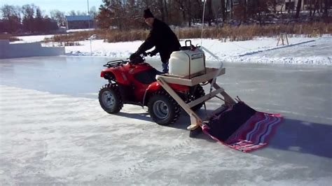 backyard rink zamboni mattson zamboni part 2 2012