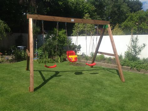 a frame swing sets classic heavy duty a frame swing set by sttswings