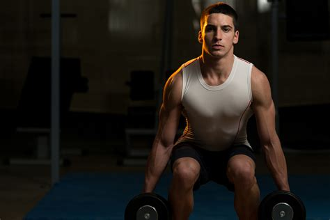exercise your lower with a dumbbell leg workout