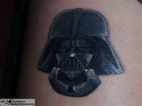 darth vader thigh tattoo geeky tattoos darth vader geeky tattoos