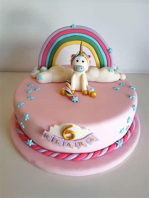 Einhorn Deko Kuchen