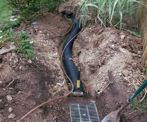 dry creek bed for drainage dry creek bed project of family drainage solutions inc