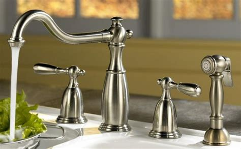 style kitchen faucets benefits of using commercial type kitchen faucets