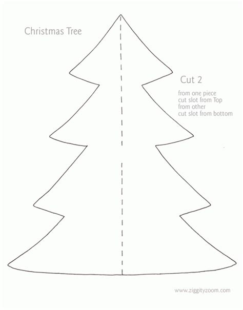 maria s nice site cardboard christmas tree template