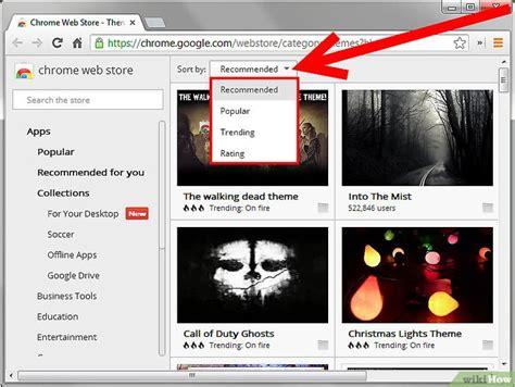 changer de themes google chrome comment changer de th 232 me sur google chrome 5 233 tapes