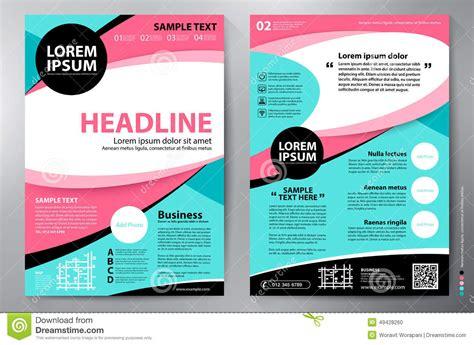 a4 brochure layout design brochure design a4 vector template stock vector image