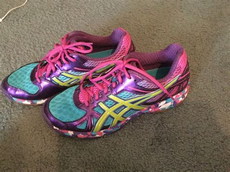 multi colored tennis shoes asics multi colored gel tennis shoes new s 8 1 2