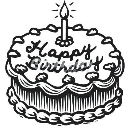 Cake Clipart Black And White Cake Black And White Birthday Cupcake Clipart Black And White